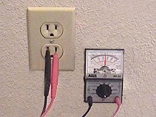 analogvoltage home electrical guide how to test the voltage of an outlet acme